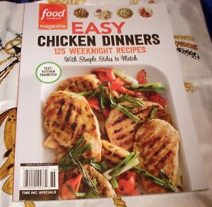 Easy chicken dinners recipes food network magazine special 2017 ebay image is loading easy chicken dinners recipes food network magazine special forumfinder Gallery