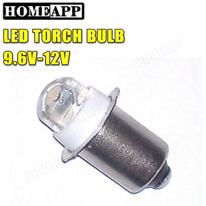 Led 9v 10 8v Torch Bulb For Maglite 5d 6d D Cell