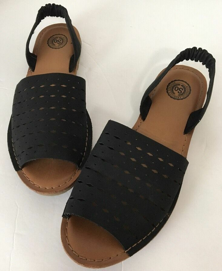 New-Brown Womens Ladder Heeled Sandals-Sz 8/9