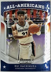 2019-20-Panini-Rui-Hachimura-Prizm-Rookie-Card-RC-All-Americans-Wizards
