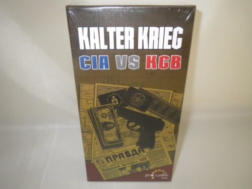 "CIA VS KGB/"" Spiel Neu // selten! /""Kalter Krieg"