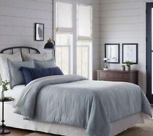 Blue-Twill-Twin-Comforter-amp-Sham-Set-Hearth-amp-Hand-with-Magnolia