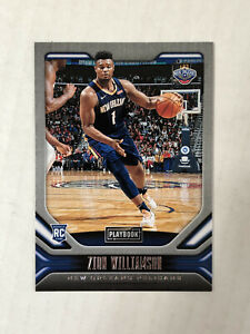 ZION WILLIAMSON 2019-20 Panini Chronicles Playbook ROOKIE RC #169! INVEST! HOT!