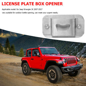 License-Plate-Delete-Bottle-Opener-for-Jeep-Wrangler-JK-07-17-Car-Accessories