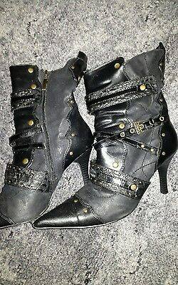 Stiefel mit schmalem Absatz * Schuhe * Gr. 40 *
