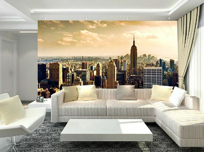 3D New York Building 7 Wall Paper Murals Wall Print Wall Wallpaper Mural AU Kyra