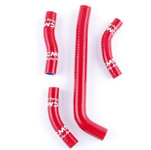 Red For Honda CRF250R CRF 250 R 2010-2013 2012 2011 silicone radiator hose