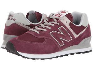 Balance Burgundy Herenmode Sneakers Ml574egb New 574 fYyb67g