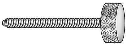 "3//8-16 x 3/"" Knurled 18-8 ss ZORO SELECT Z2198 Thumb Screw"