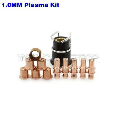 Business & Industrial Diligent Pkg/13 Plasma Cutter Electrode Tips Outer Nozzle Fit Trafimet A81 Torch Spares