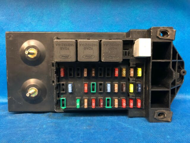 Module In Fuse Box F350 - Wiring Diagram All