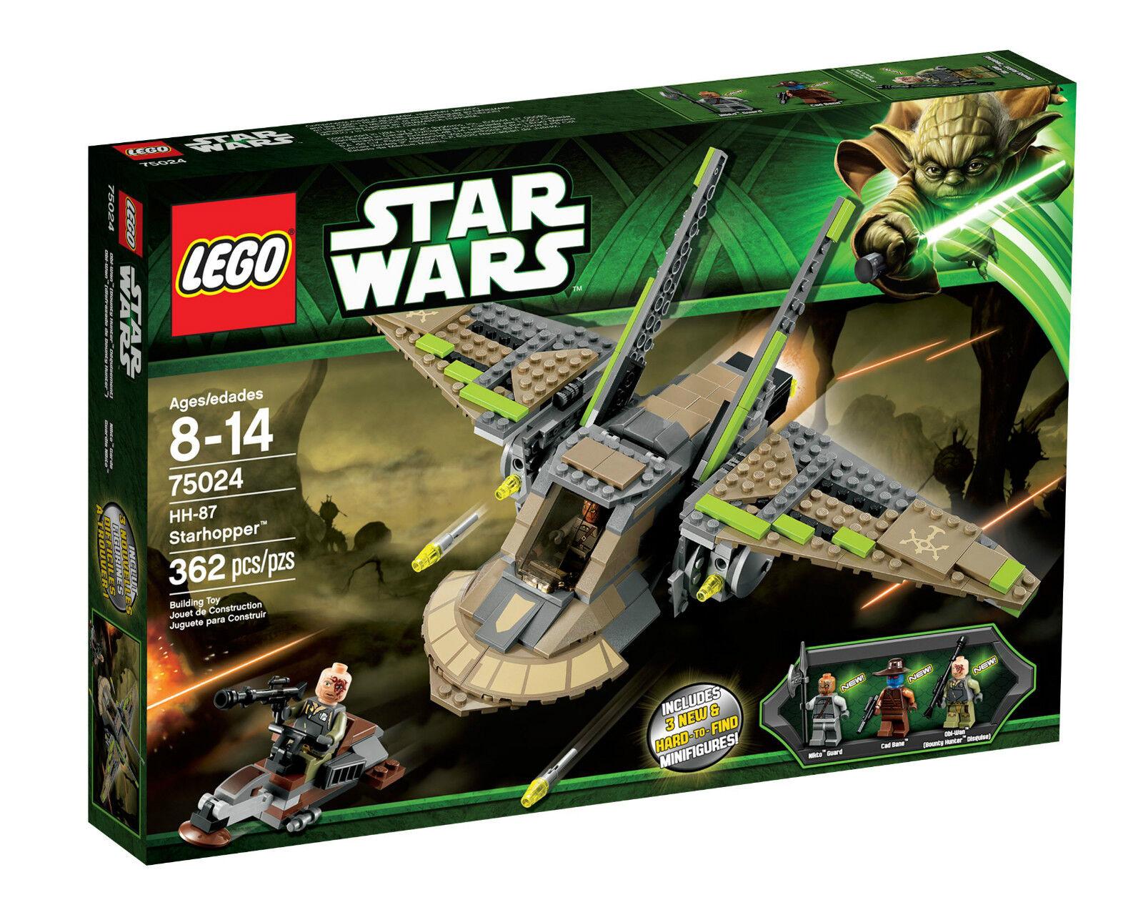 LEGO Star Wars 75024 HH 87 Starhopper Obi Wan RAKO Hardeen Cad Bane Nikto wächte