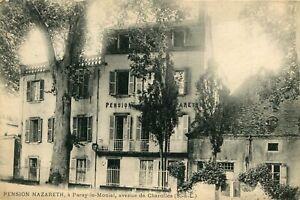 Carte-PARAY-LE-MONIAL-Pension-NAZARETH-Avenue-de-Charolles