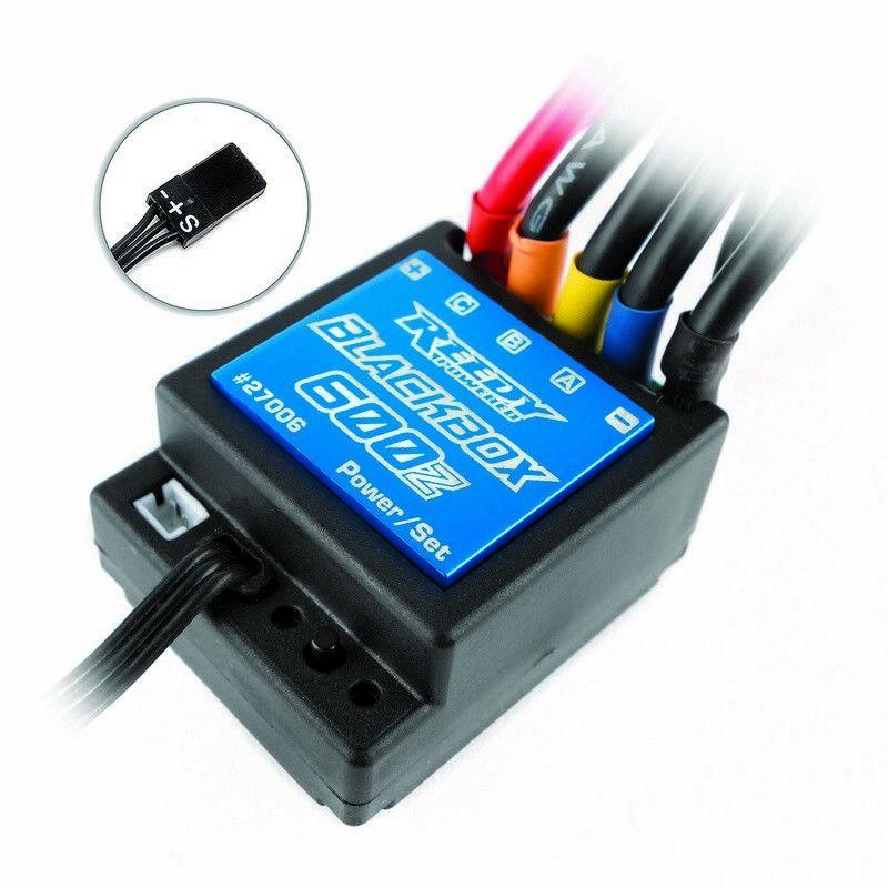 27006 Reedy negrobox 600Z Zero Associated-sincronización Esc