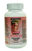 Multivitaminas Forever Woman 365 Tabletas 1 Year Supply Vitaminas Para La Mujer