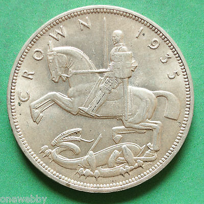 1935 George V Silver Crown SNo18013