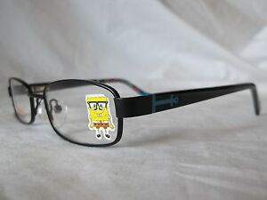 a76308321d1 Image is loading NICKELODEON-SPONGEBOB-STARBOARD-BLK-BLACK-CHILD-EYEGLASS -46-