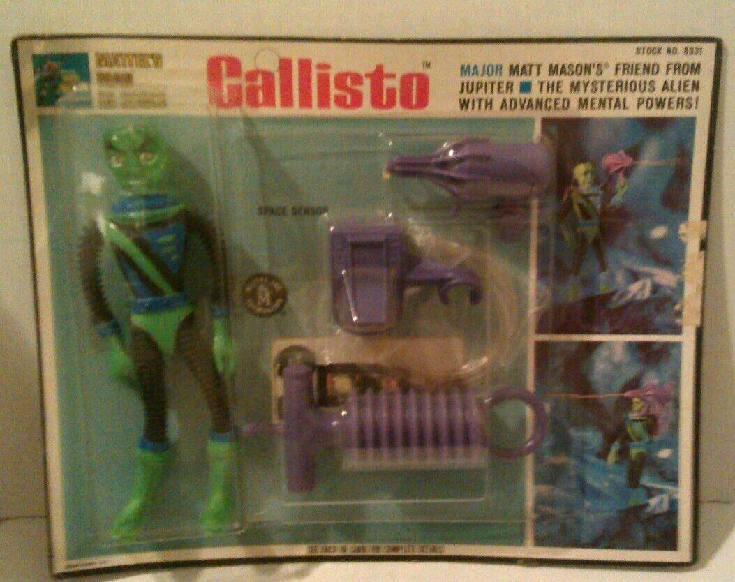 Major Matt Mason  Callisto Factory Sealed Action Figure