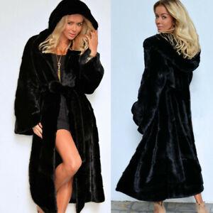 Women-039-s-Thicken-Faux-Fur-Coat-Parka-Jacket-Long-Trench-Winter-Warm-Tops-Overcoat