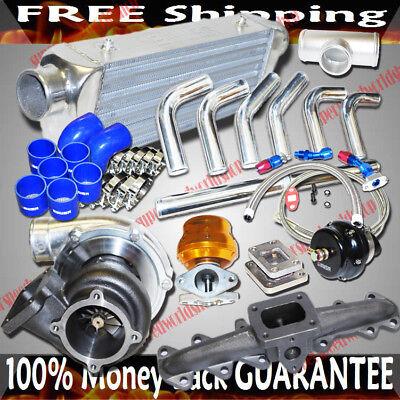 Cast Iron Manifold fit 93-98 Toyota Supra Base Hatchback 2D 3.0L 2JZ-GTE ONLYT4