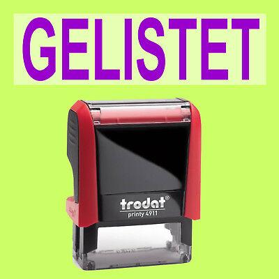Vorsichtig Gelistet Trodat Printy Rot 4911 Büro Stempel Kissen Violett Mit Dem Besten Service Stempel