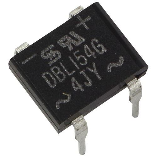 10 TAIWAN DBL154G Brückengleichrichter DIP 1,5A 280V 400V Gleichrichter 856851