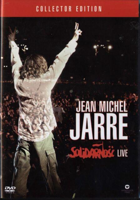 Jean Michel Jarre - Solidarnosc Live (DVD + CD) | DVD | RARE Region 2,3,4,5,6