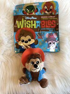 Walt-Disney-Parks-Wishables-Splash-Mountain-Br-039-er-Bear-2019-New-With-Bag-NWT