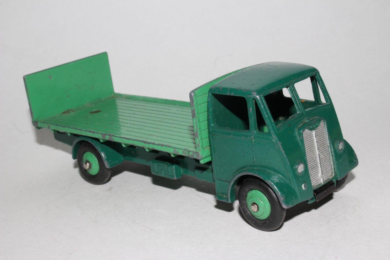 594ms Dinky Supertoys, 513 Guy Base Plana Camión con Compuerta de Cola, verde