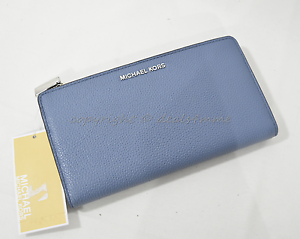 747e6ccff78b NWT Michael Kors Studio Mercer Leather Large Double Snap Wallet in ...