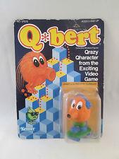 Q-bert TerrifiQ on sQateboard Collectible Miniature Figure - 1983 Mattel Gottieb