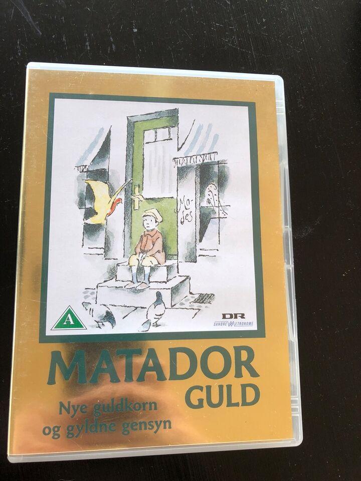 Smuk Matador guld og serie, instruktør – dba.dk – Køb og Salg af Nyt og WO-82