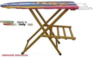Asse Tavola Tavolo da stiro in legno massello di faggio levigato Noce lusso