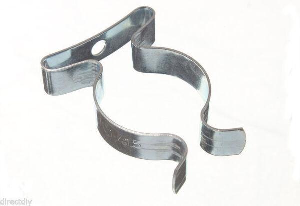 environ 2.54 cm Lot de 10 Printemps Outil Terry Stockage clips 25 mm 1 in H Duty Acier Zinc Plaqué