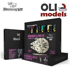 FANTASY & SCI-FI COLORS Weathering Oil Paint Set 6x20ml - Abteilung 502 ABT-310