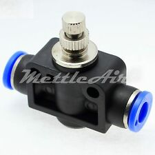 Push to Connect Universal Elbow Speed Control 6mm OD-1//8 NPT Fitting MSCL6-N01
