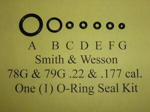 Smith /& Wesson 78 g 79 g deux O-Ring Seal Kits Vue éclatée//liste de pièces guide