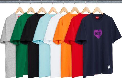 SUPREME Mom S//S Short Sleeve Top Black Navy box logo camp cap tnf S//S 18