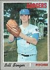 1970 Topps Bill Singer #490 Baseball Card
