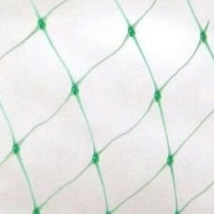 4 x 10m Vogelschutznetz Laubschutznetz Gartennetz Pflanznetz Masche 19x19mm