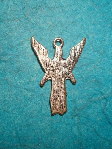 Pendant Angel Charm Guardian Angel Spiritual Charm Religious Pendant Saint Charm