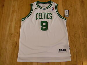 half off 9cb8b 0ef7d Details about New adidas RAJON RONDO White Home BOSTON CELTICS Youth NBA  Swingman JERSEY Sz XL