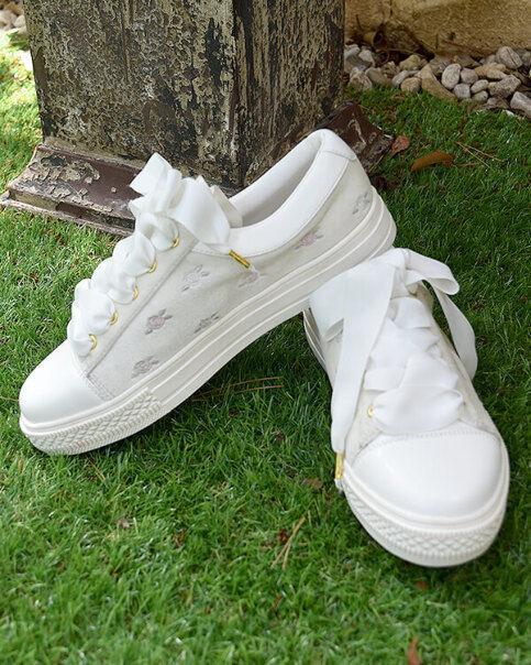 LIZ LISA - Rose EmbroideROT Sneakers