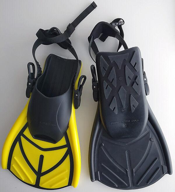 U.S. DIVERS - Shrotder Sar - spezielle Kurzflosse, gelb gelb gelb oder schwarz abc440