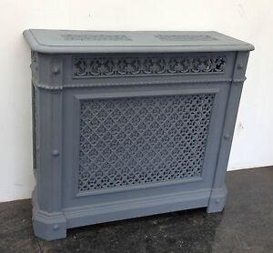Original antique cast iron victorian church ornate - Cast iron radiator covers ...
