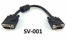 1ft Super VGA Monitor Cable / Cord HD15 Male/Male