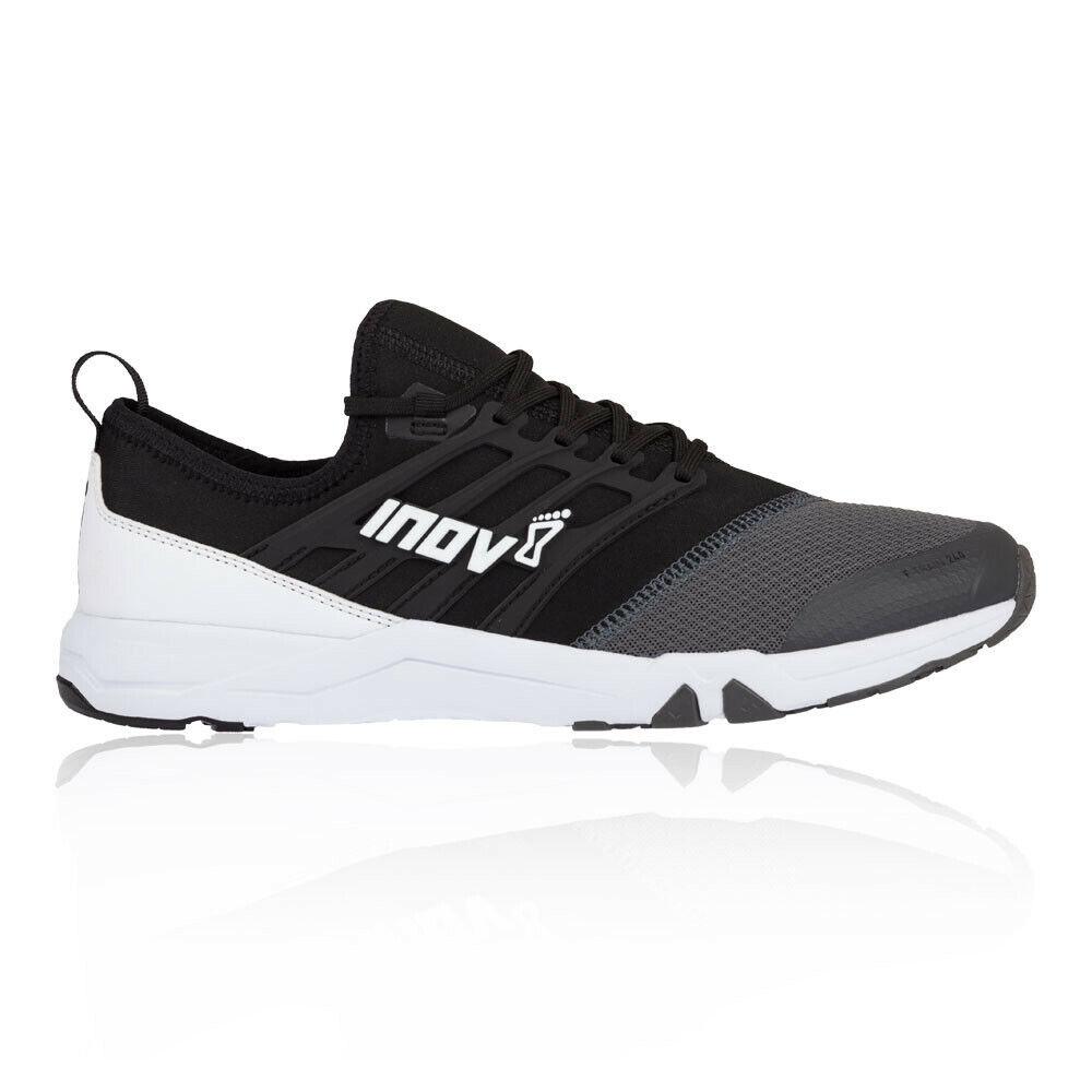 Inov8 mannens F-Train 240 Training Gym Fitness schoenen zwart wit Sports hardlopen