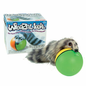 94d0835afd937 Details about Original Weazel Weasel Ball Prank Gift Fun Toy for Dog Cat  Pets Children Kid Fun