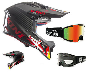 kini red bull competition helm schwarz mx motocross enduro. Black Bedroom Furniture Sets. Home Design Ideas