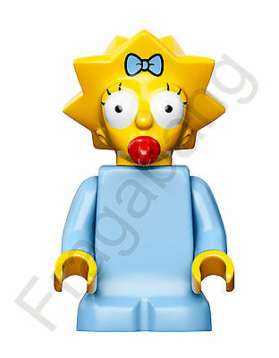 LEGO 71006 The Simpsons Maggie  Minifigure split from 71006